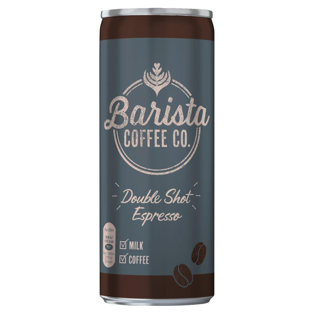 Barista Coffee Co Double Shot Espresso 250ml