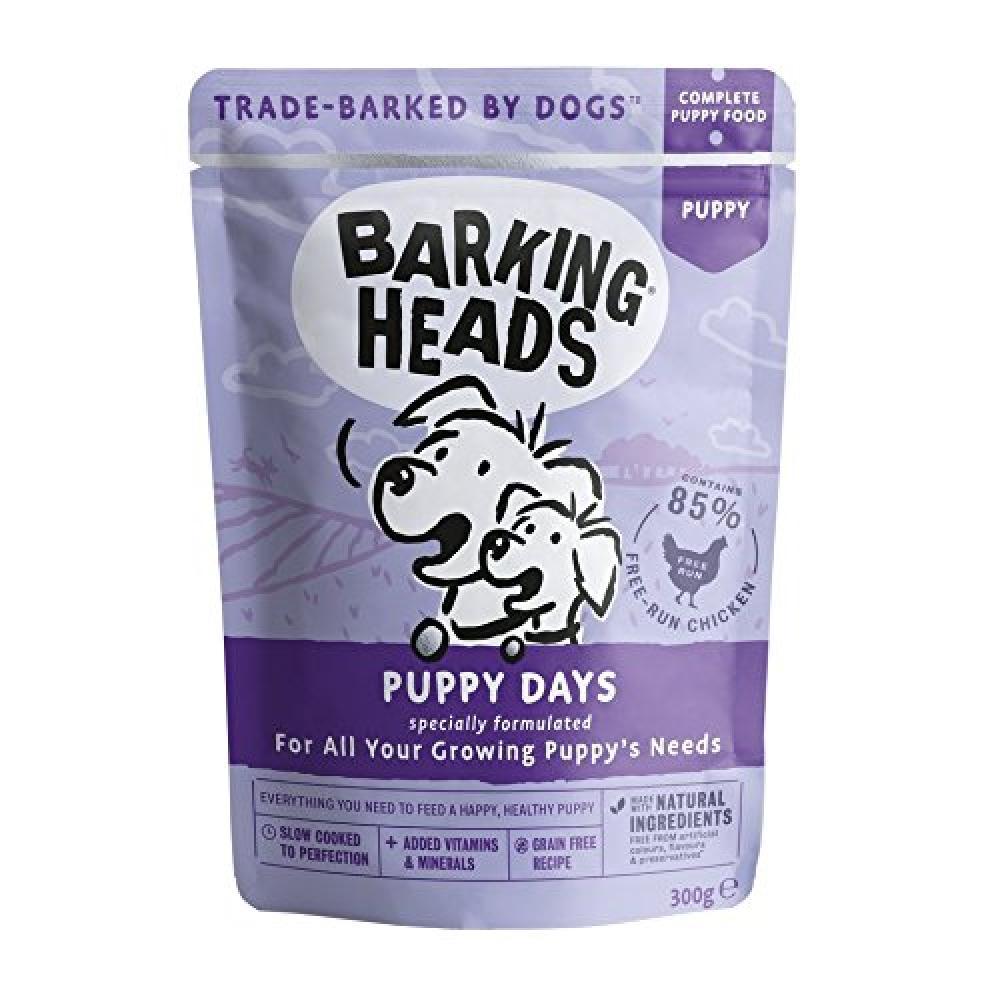 Barking Heads Puppy Days Dog Food 300g