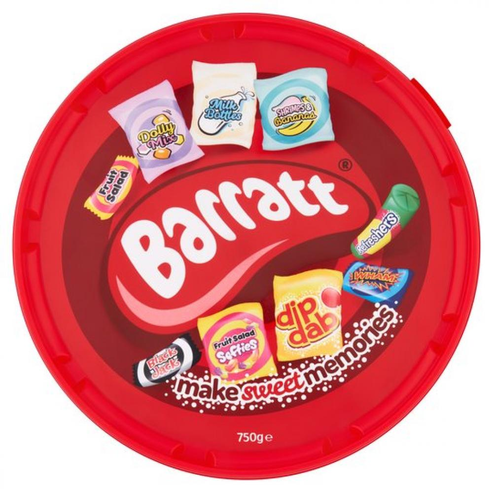 Barratt Make Sweet Memories Selection 750g