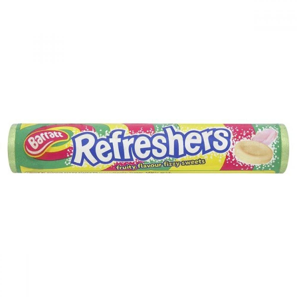 Barratts Refreshers Fruity Flavour Fizzy Sweets 34g