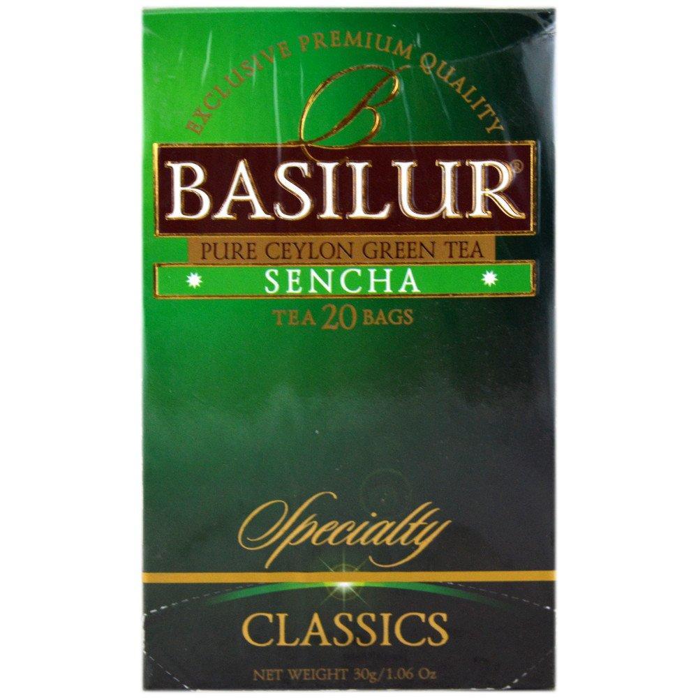Basilur Tea Sencha Tea Bags 20 Tea Bags