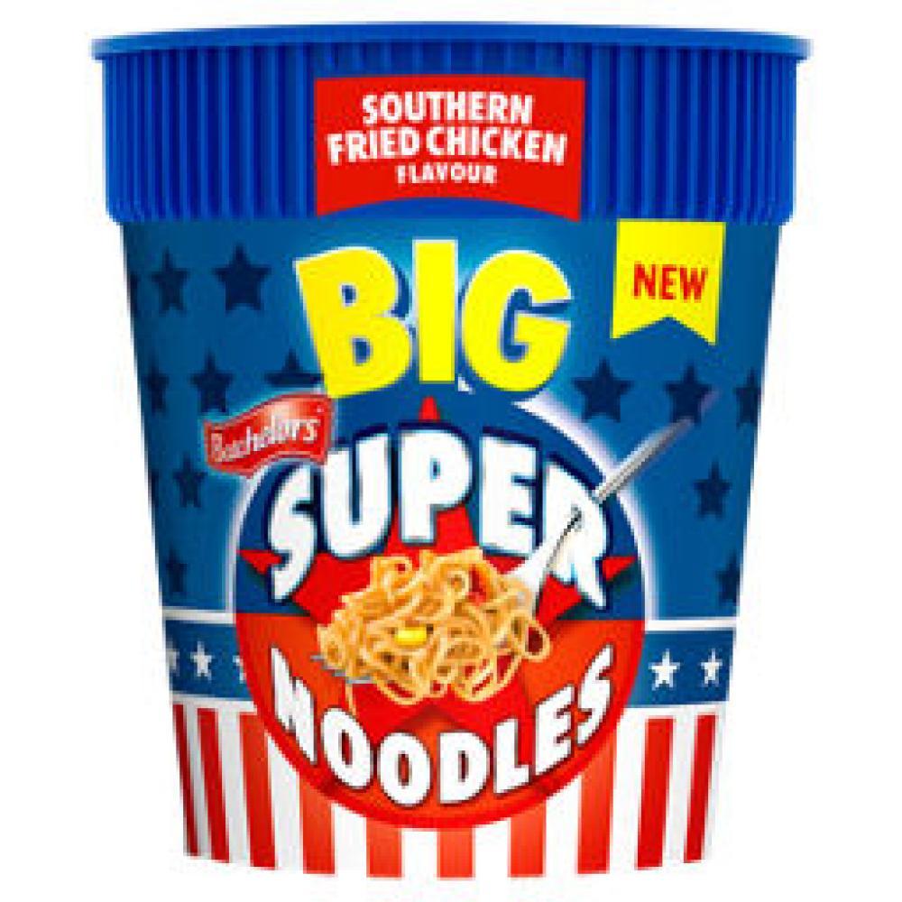 Batchelors Big Super Noodles Southern Fried Chicken 100g