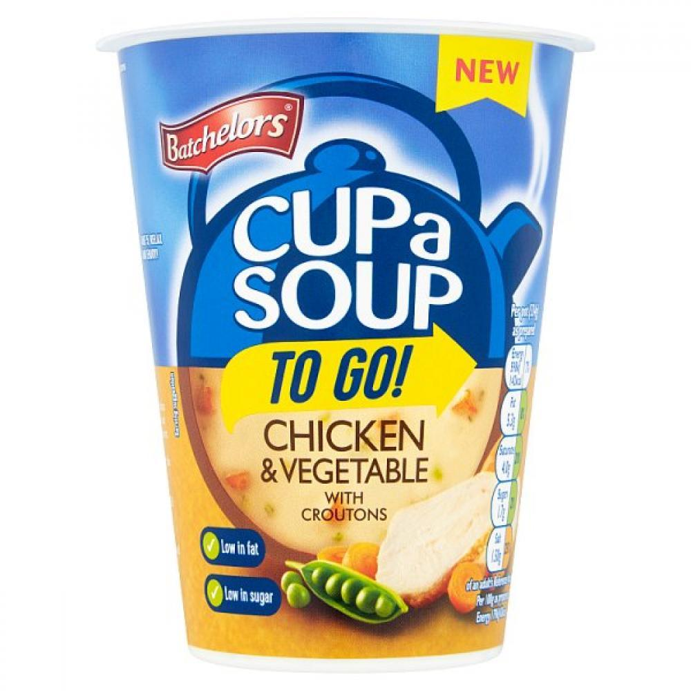 Batchelors Cup a Soup To Go Chicken and Vegetable 34g