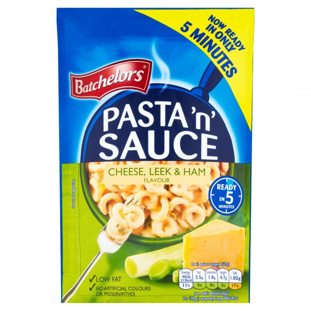 Batchelors Pasta N Sauce Cheese Leek and Ham Flavour 110g