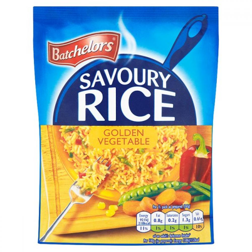 Batchelors Savoury Rice Golden Vegetable 120g