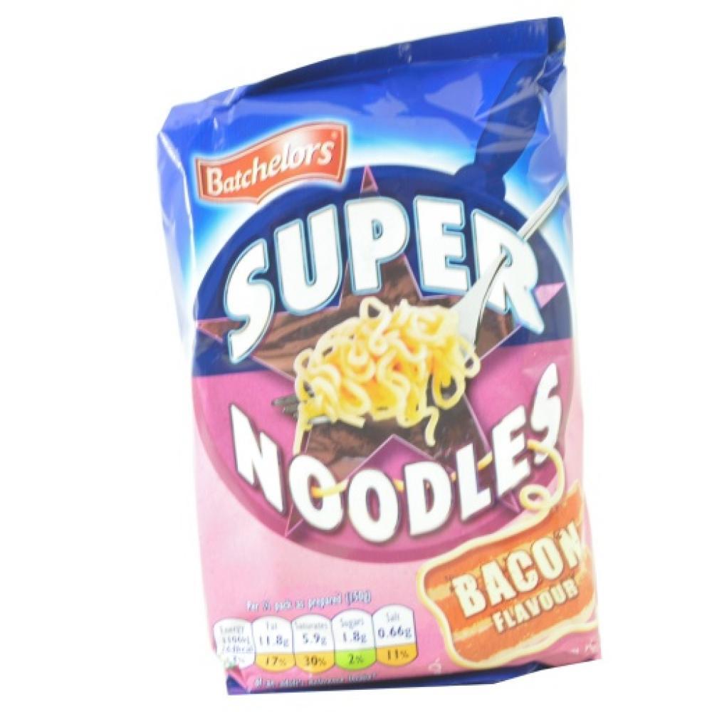 Batchelors Super Noodles Bacon Flavour 100g