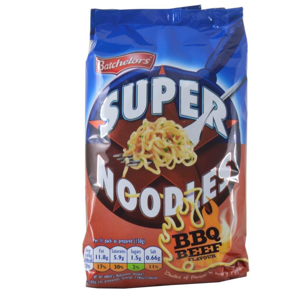 Batchelors Super Noodles BBQ Beef Flavour 100g