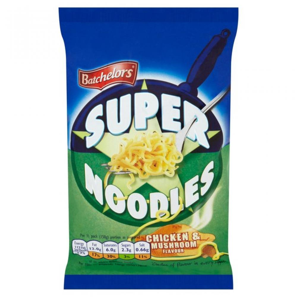 Batchelors Super Noodles Chicken And Mushroom Flavour 90g