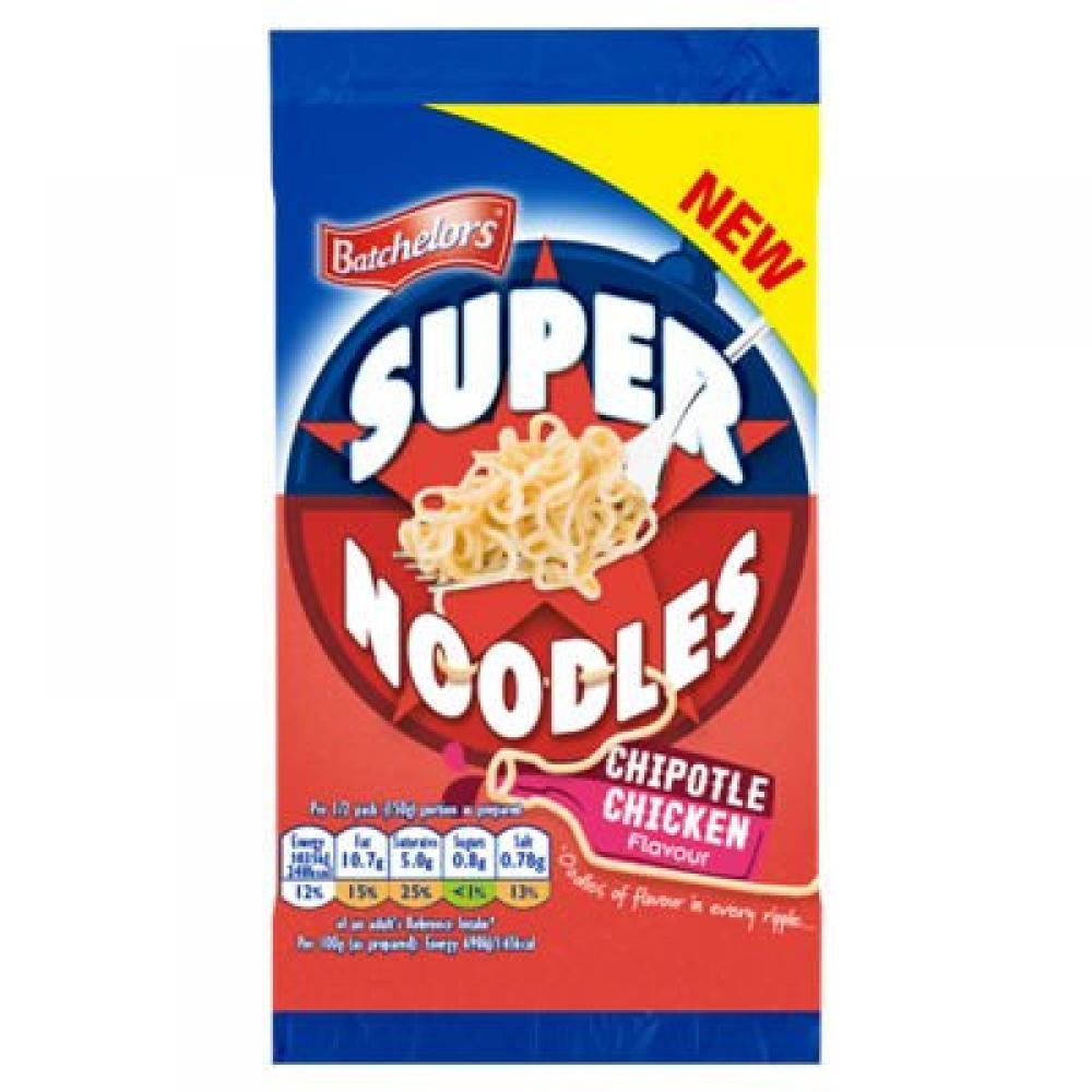 Batchelors Super Noodles Chipotle Chicken Flavour 100g