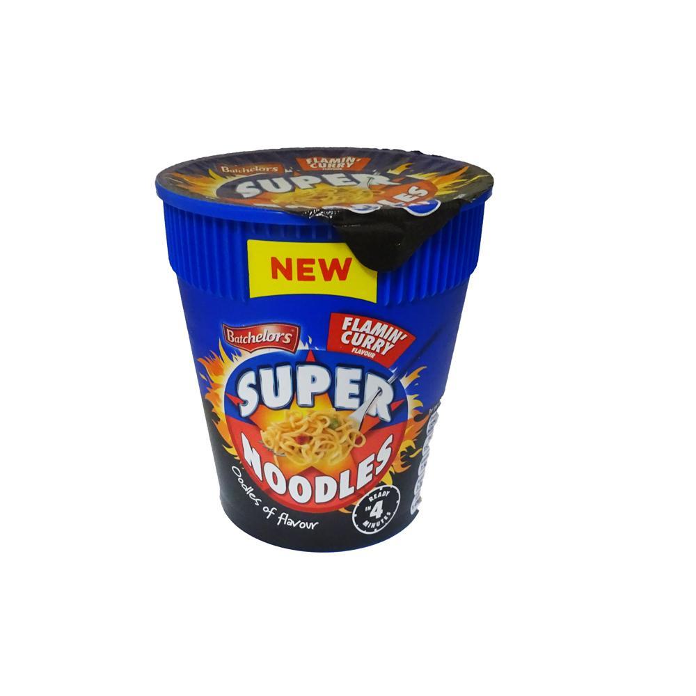 Batchelors Super Noodles Flamin Curry 77g