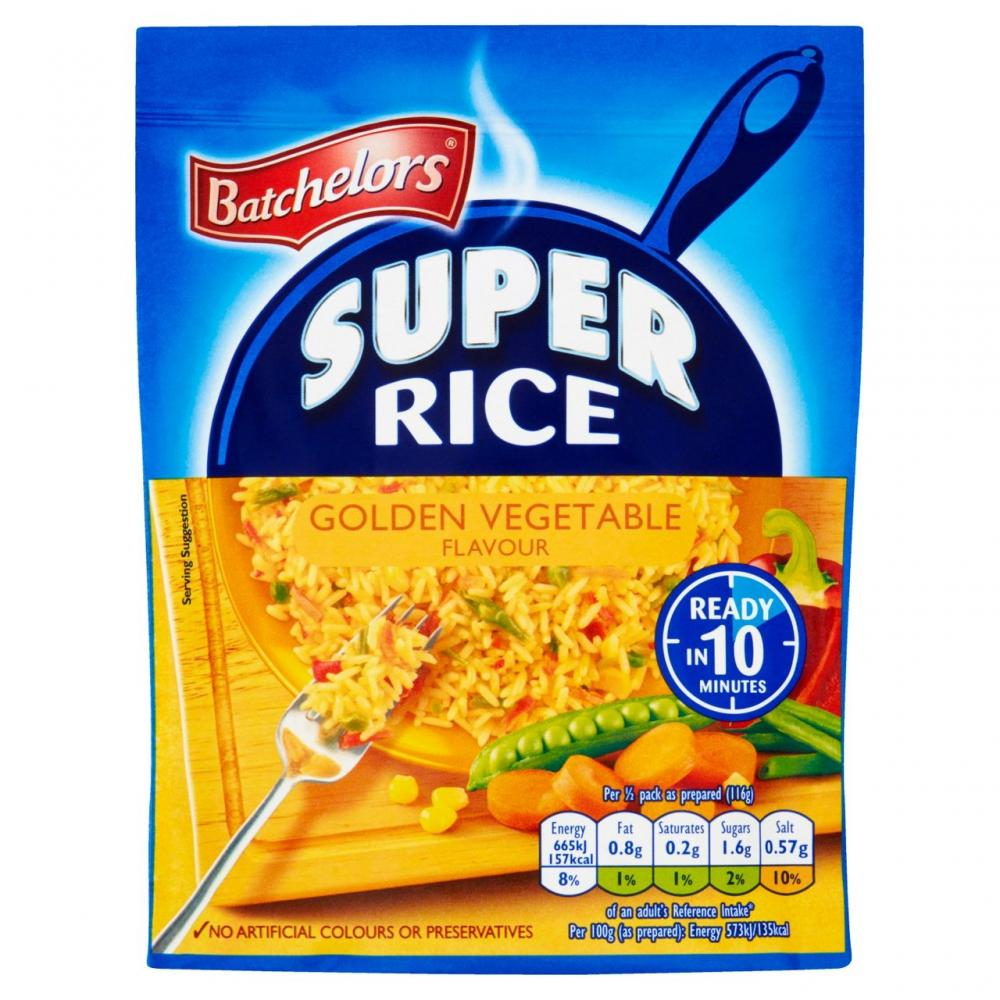 Batchelors Super Rice Golden Vegetable 100g