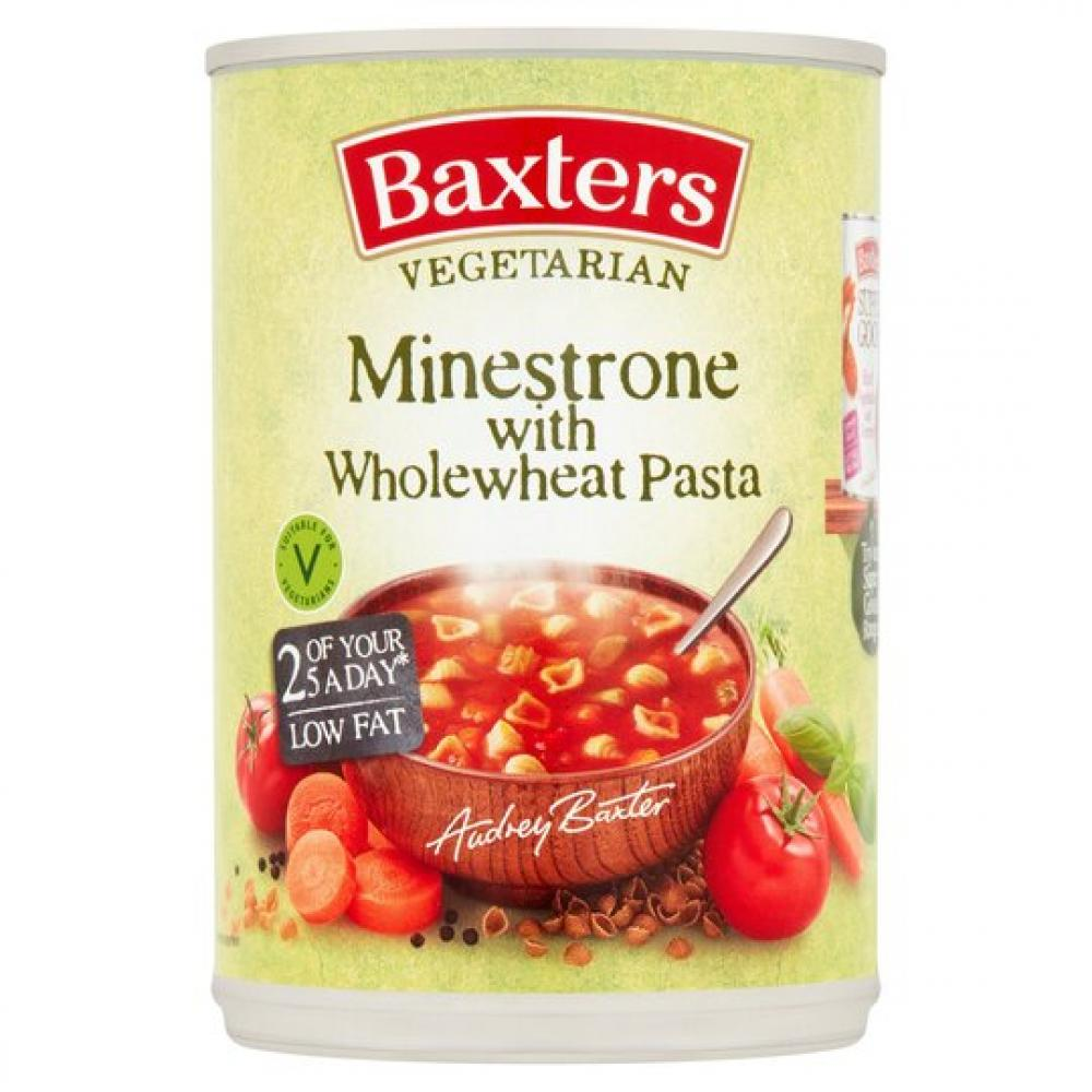 Baxters Minestrone With Wholewheat Pasta 400g
