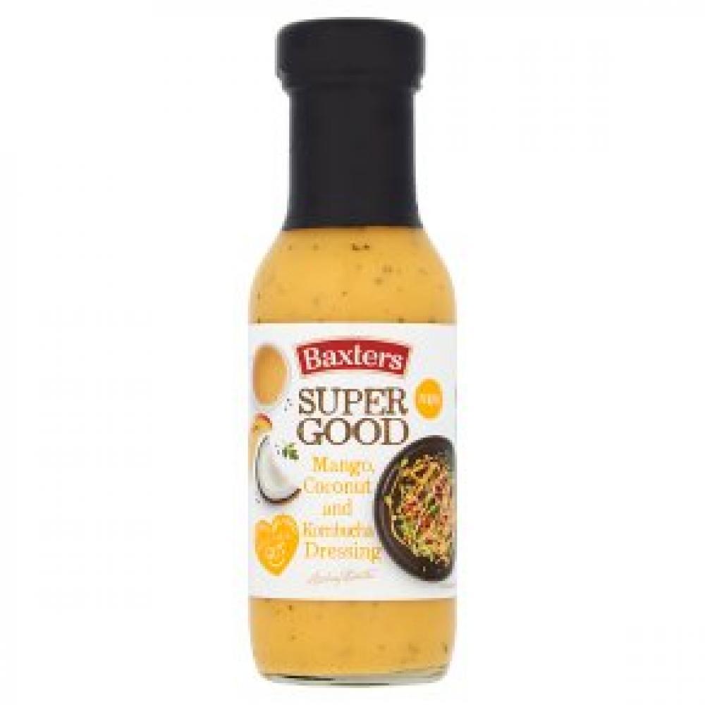 Baxters Super Good Mango Coconut and Kombucha Dressing 255g