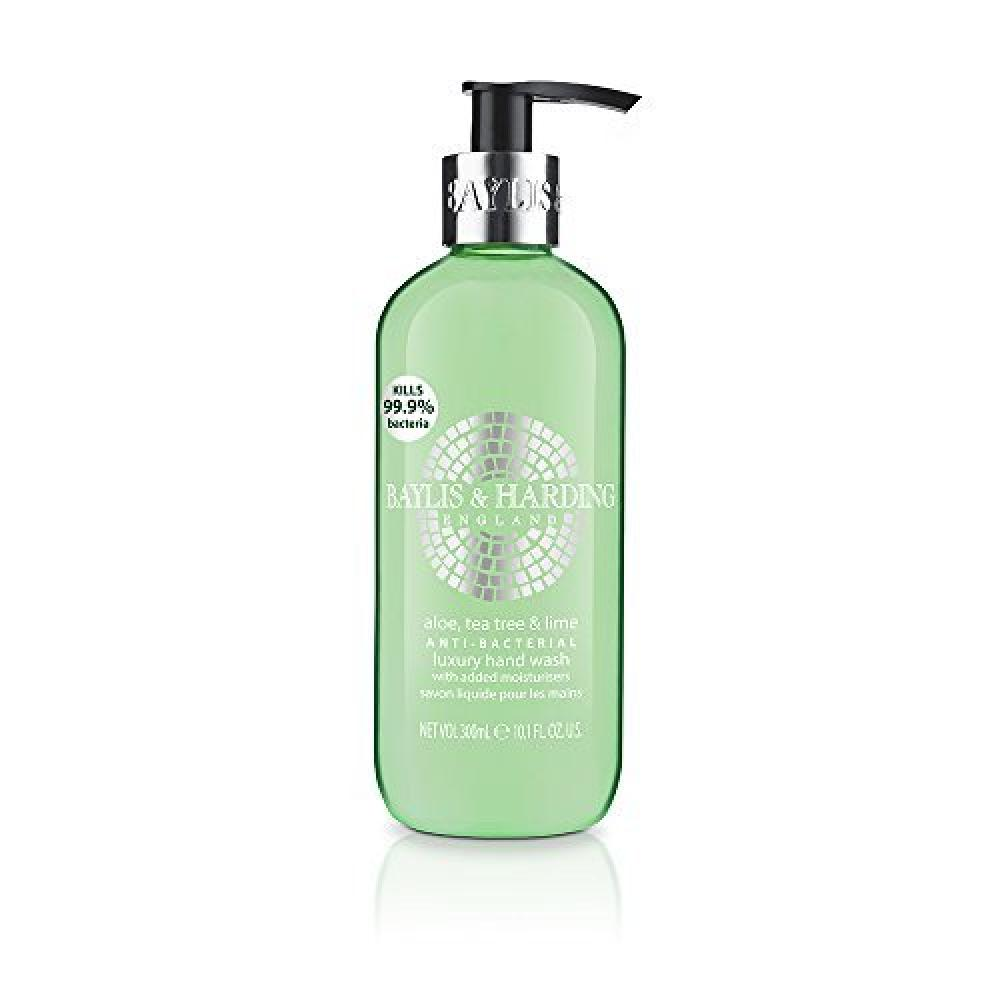 Baylis and Harding Aloe Tea Tree and Lime Anti-Bacterial Luxury Hand Wash 300ml