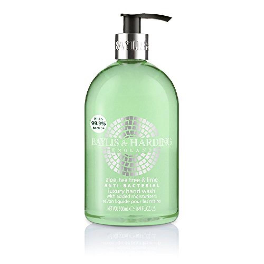 Baylis and Harding AloeTea TreeLime Anti Bacterial Hand Wash 500ml