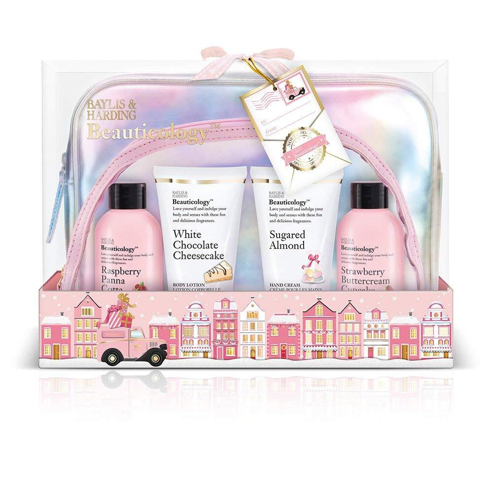 Baylis and Harding Beauticology Special Delivery Pink Cosmetic Bag Gift Set