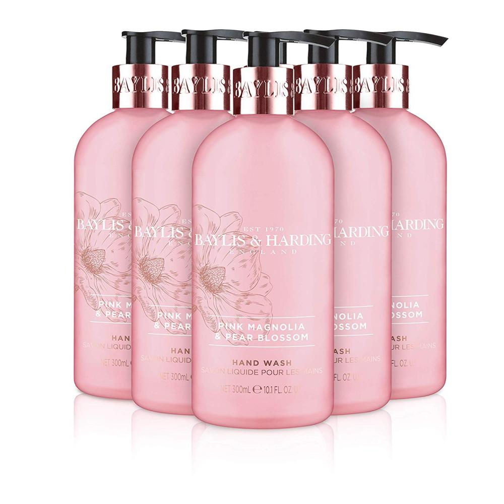 Baylis and Harding Pink Magnolia and Pear Blossom Hand Wash 300ml