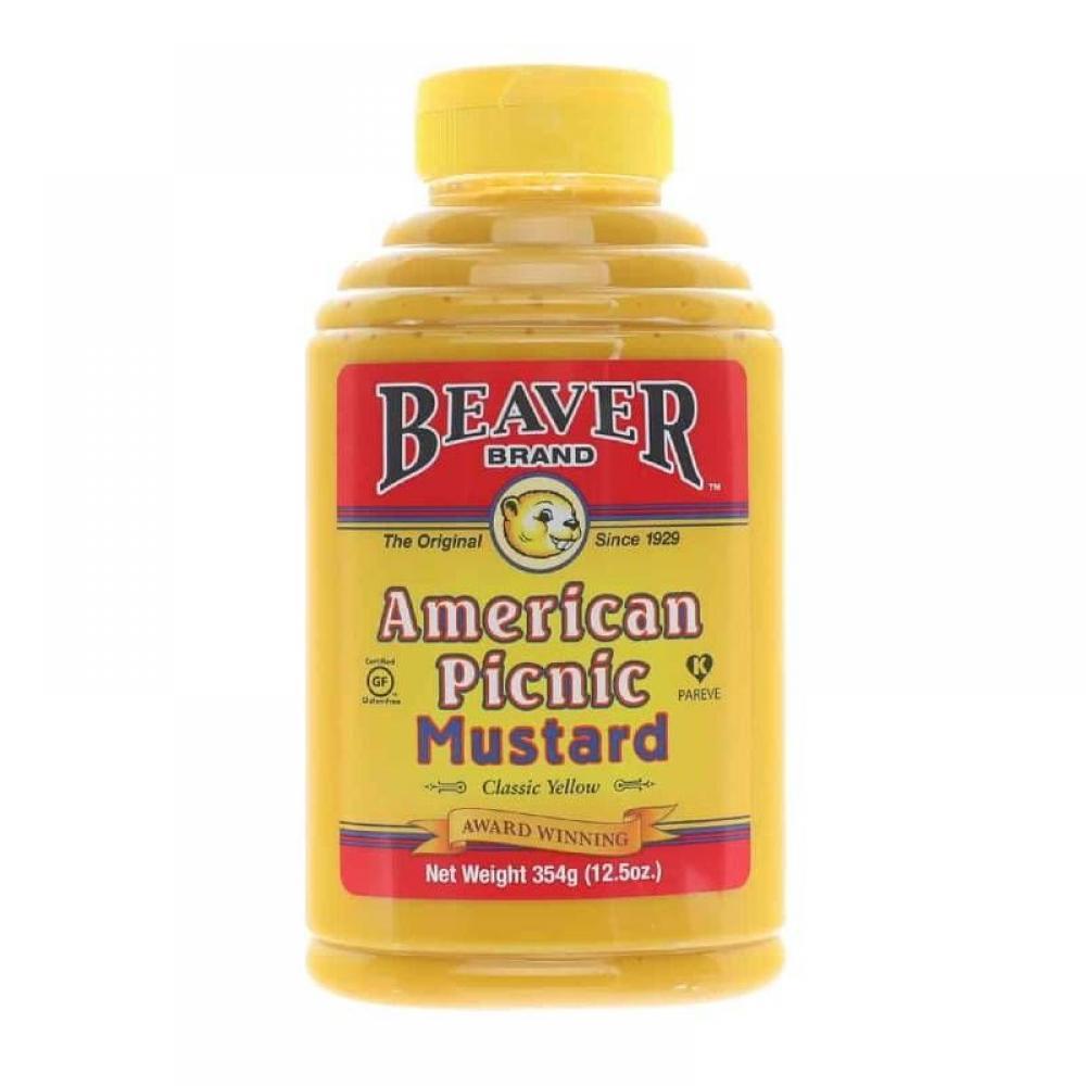 Beaver Brand American Picnic Mustard 354g