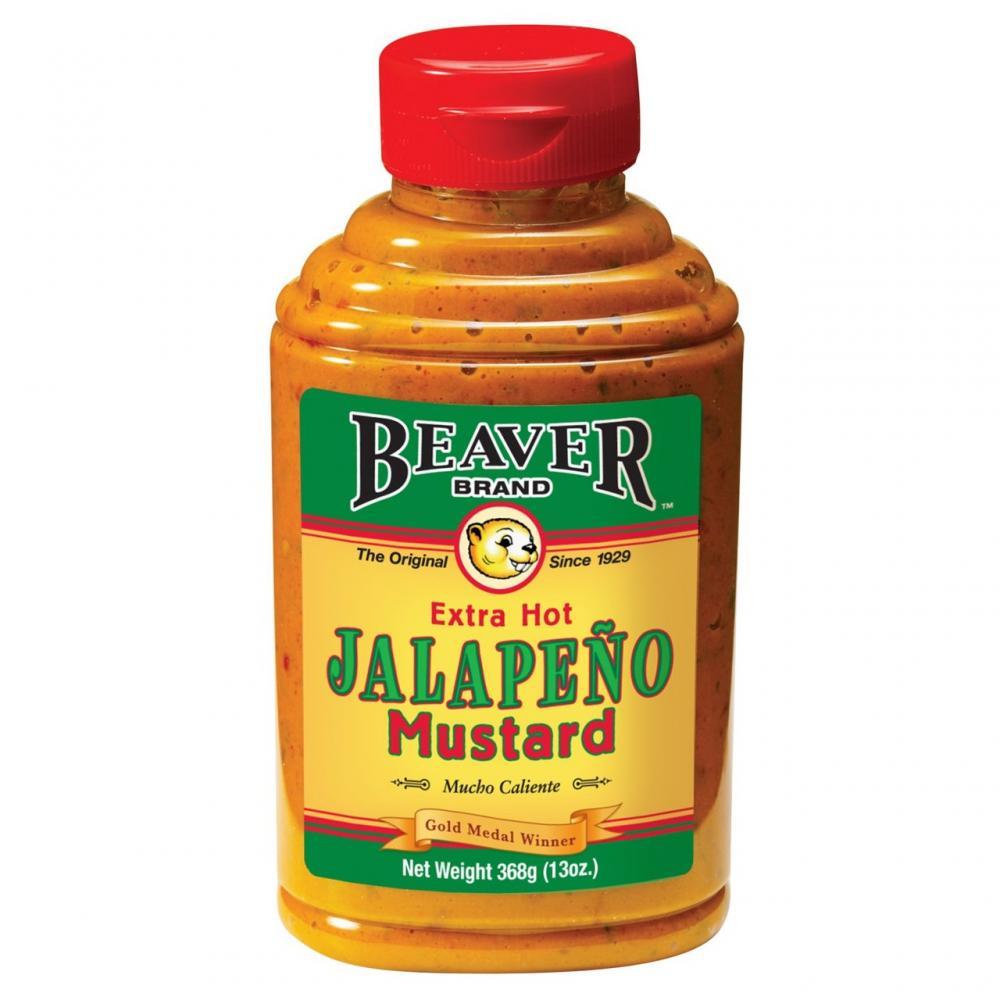 Beaver Brand Extra Hot Jalapeno Mustard 368g