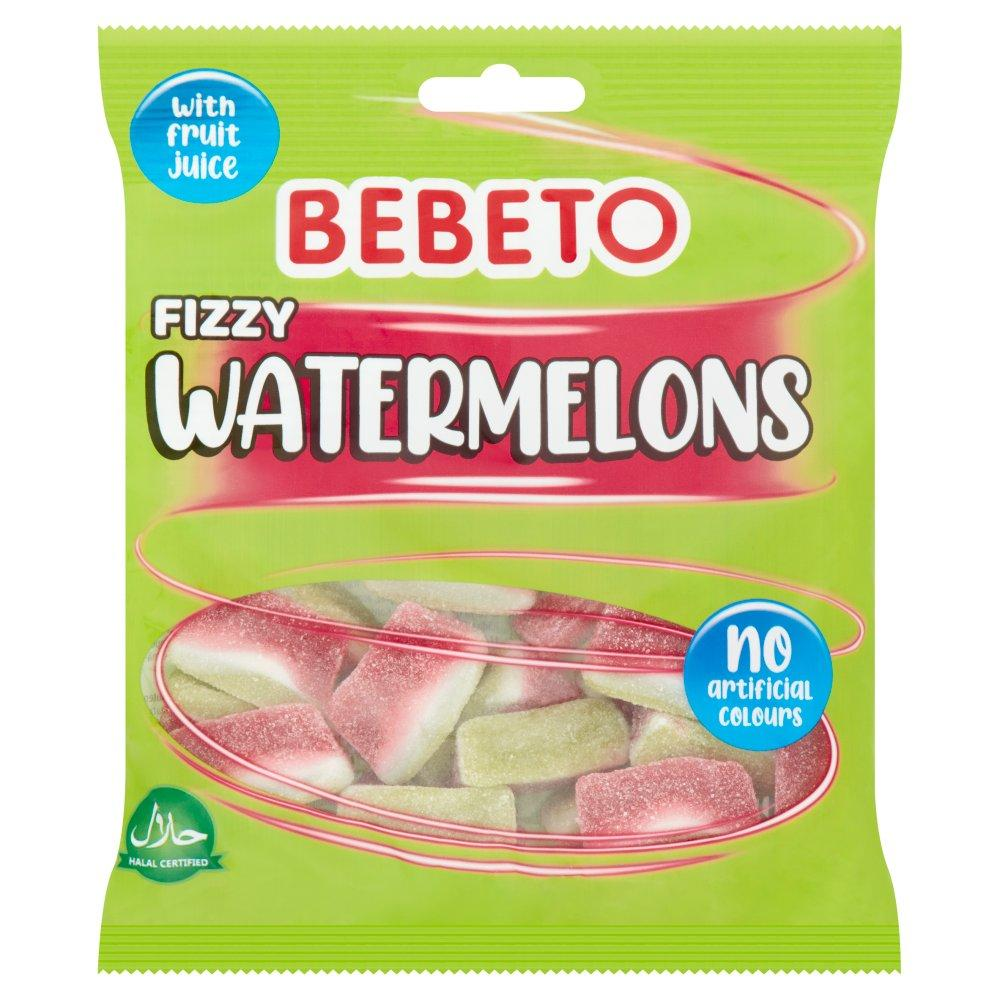 Bebeto Fizzy Watermelons 150g
