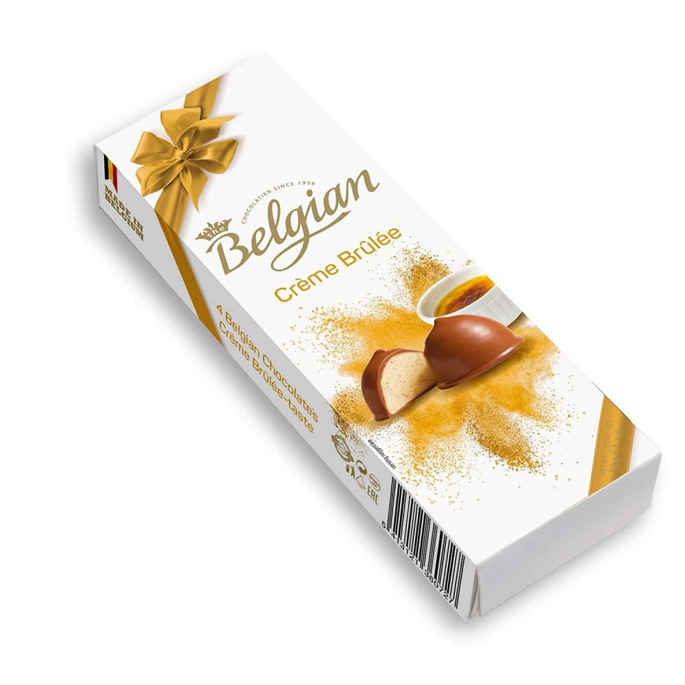 Belgian Creme Brulee Taste 50g