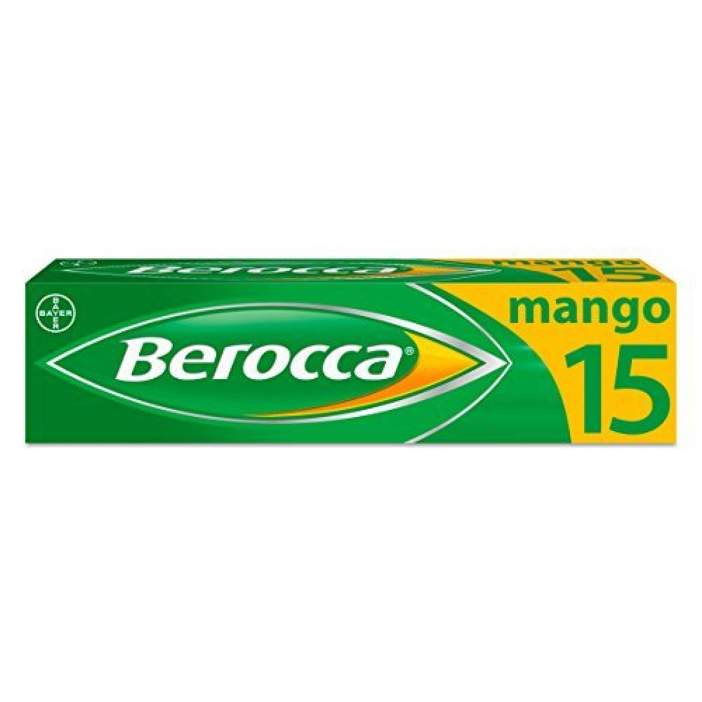 Berocca Mango Energy Vitamin 15 Tablets