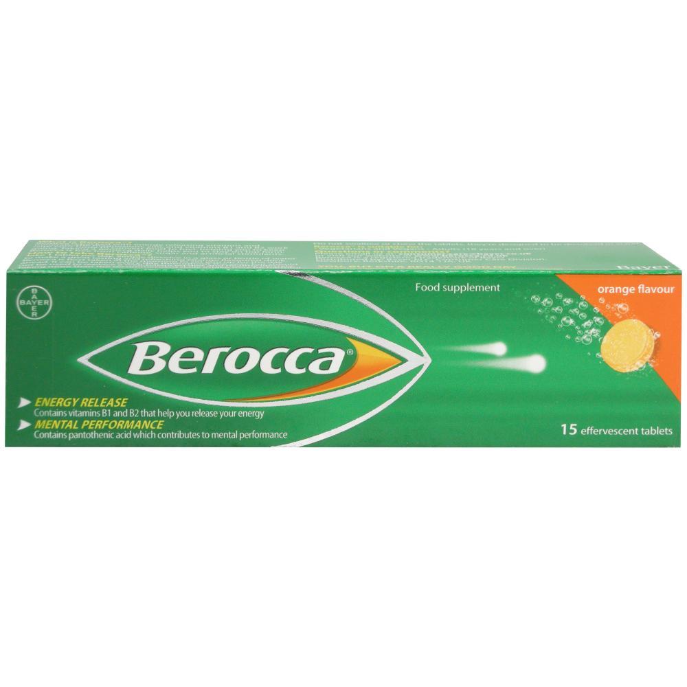 Berocca Orange Energy Vitamin 15 Tablets