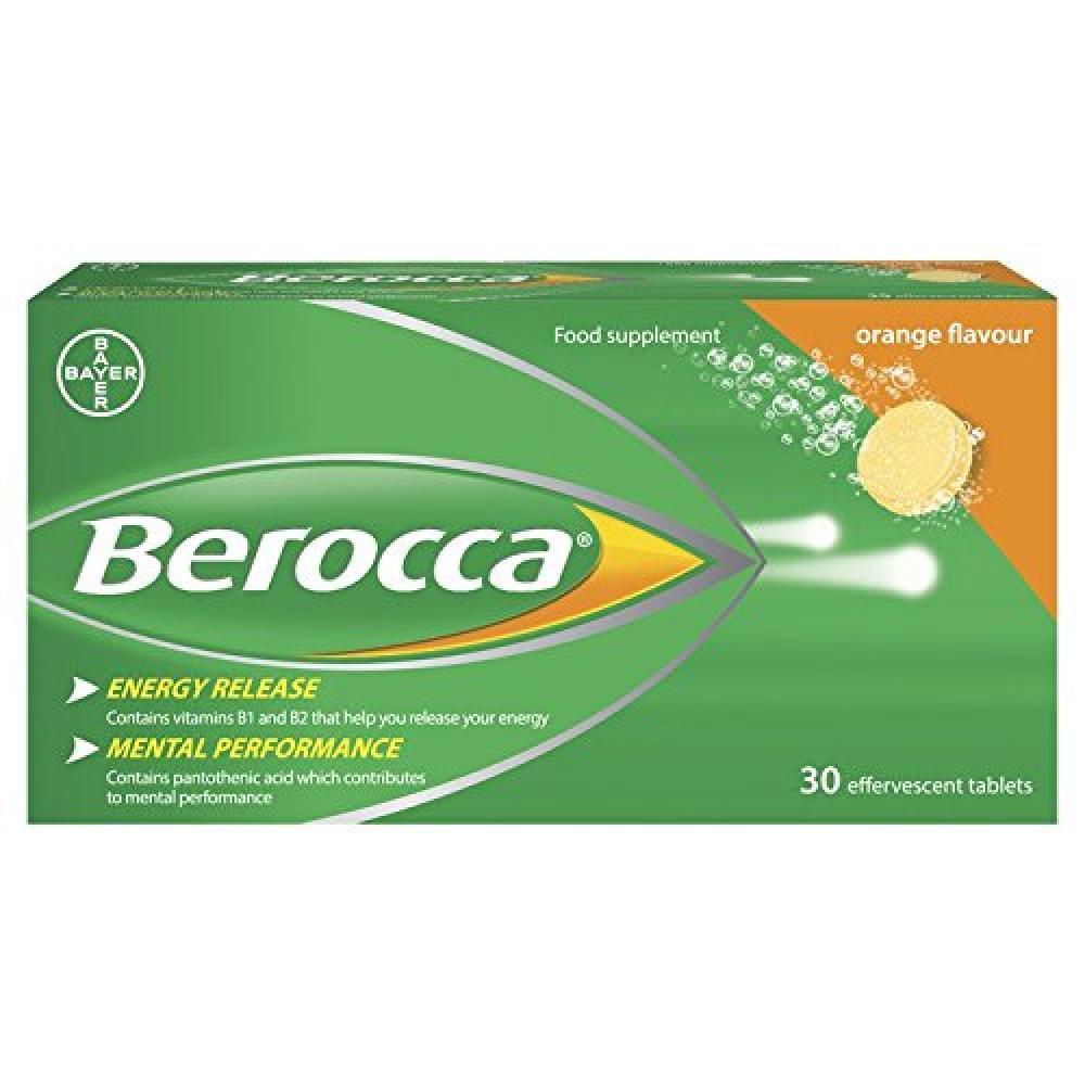 WEELKY DEAL  Berocca Orange Energy Vitamin 30 tablets