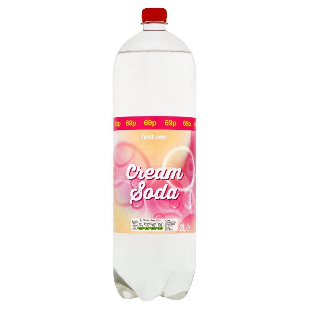 Best One Cream Soda 2 Litre