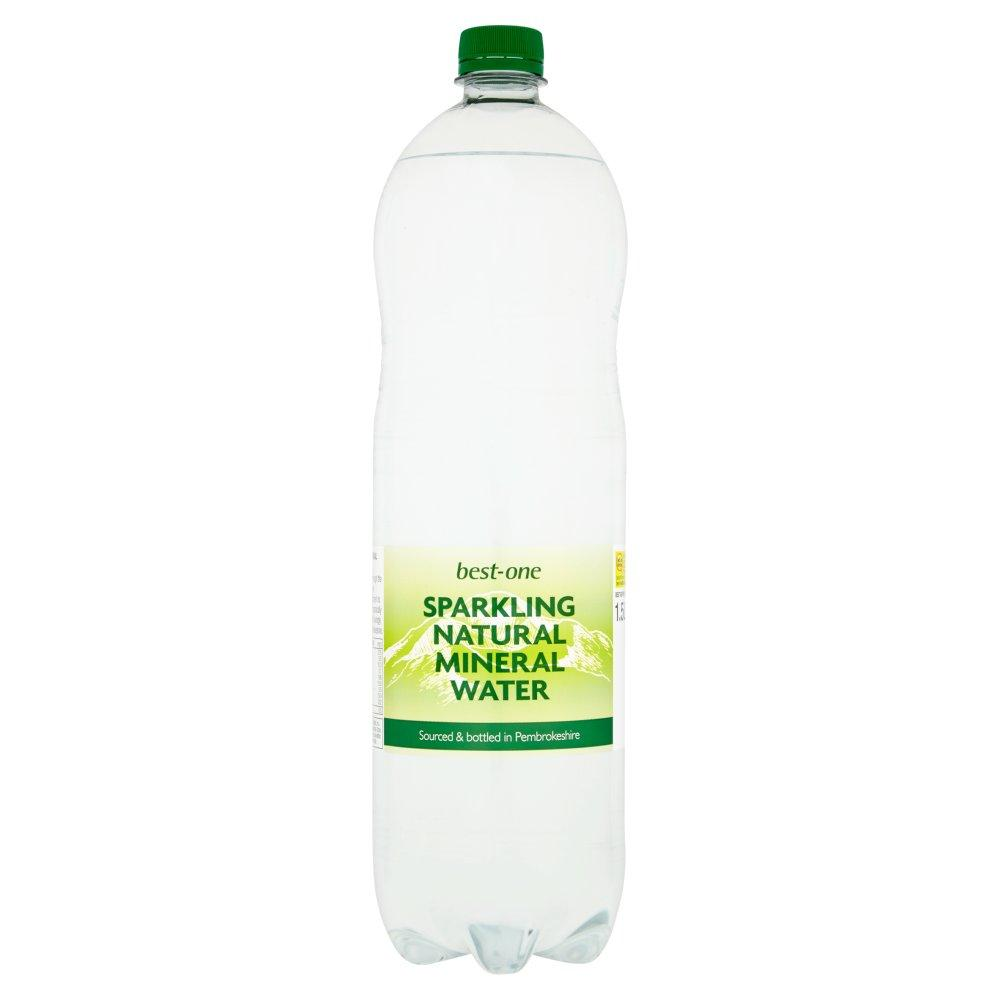 Best One Sparkling Natural Mineral Water 1.5 Litre