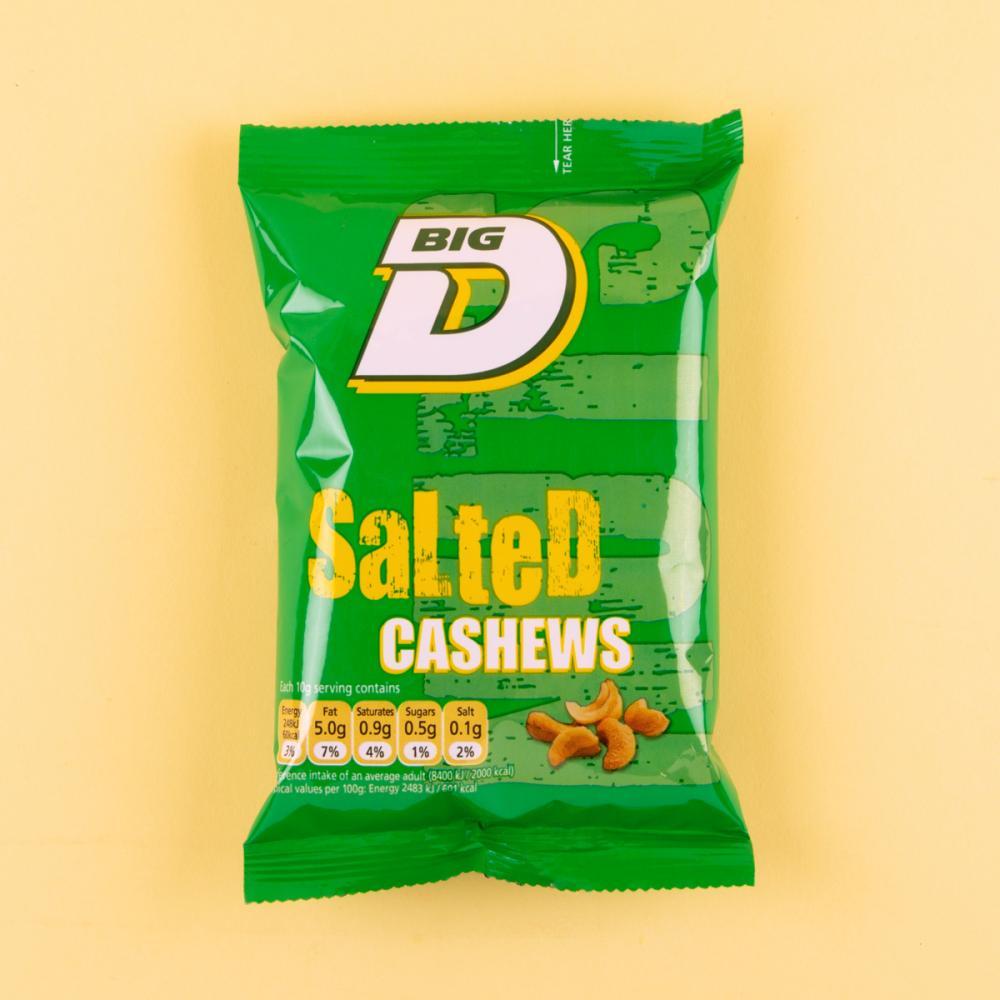 Big D Salted Cashew 30g