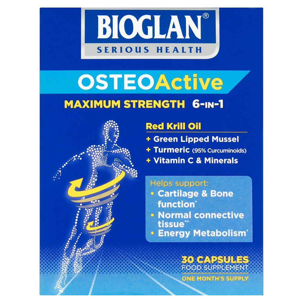 Bioglan Osteoactive Maximum Strength 6-in-1 30 Capsules