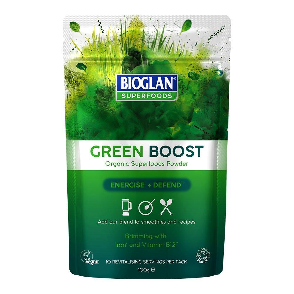 Bioglan Superfoods Green Boost Powder 100g