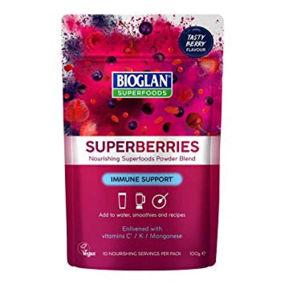 Bioglan Supergreens Superberries | Immune Support 100g