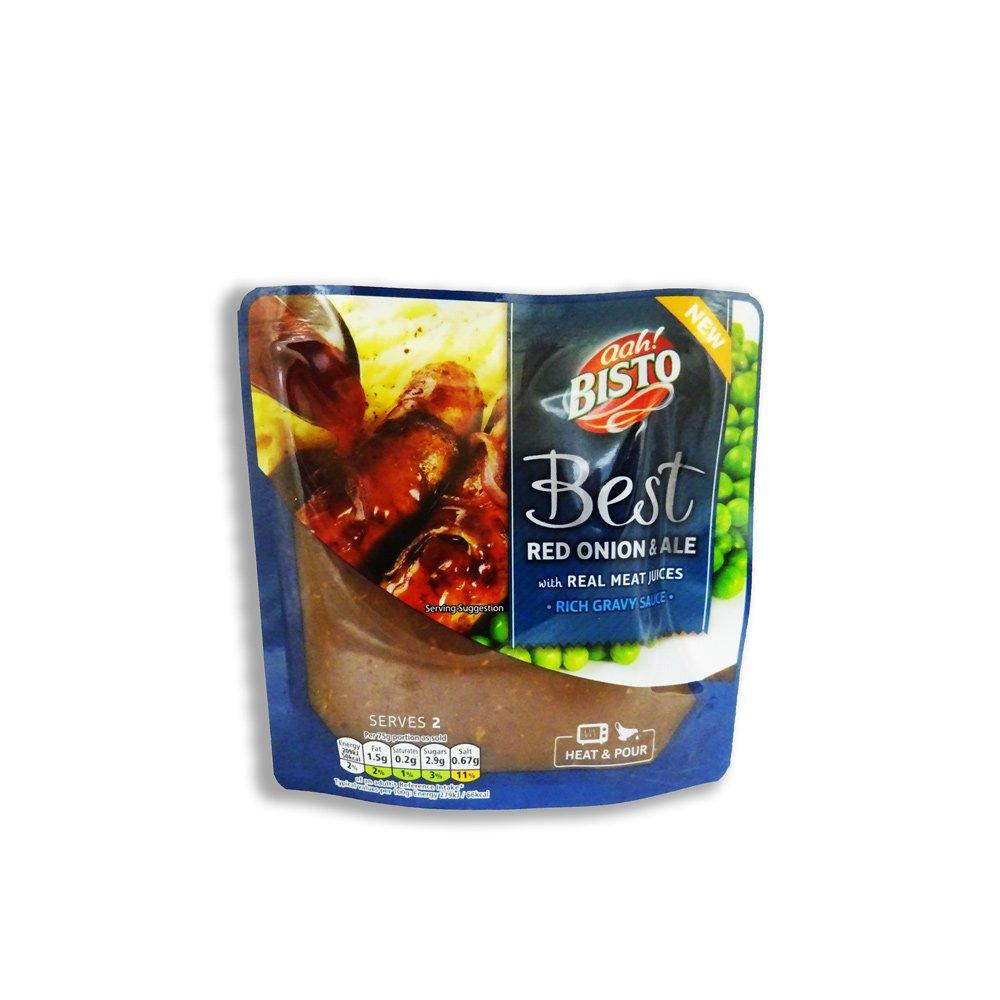 Bisto Best Red Onion and Ale Rich Ready to Use Gravy Sauce 150g