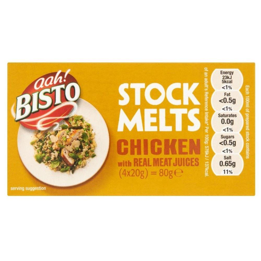 Bisto Stock Melts Chicken 20g x 4