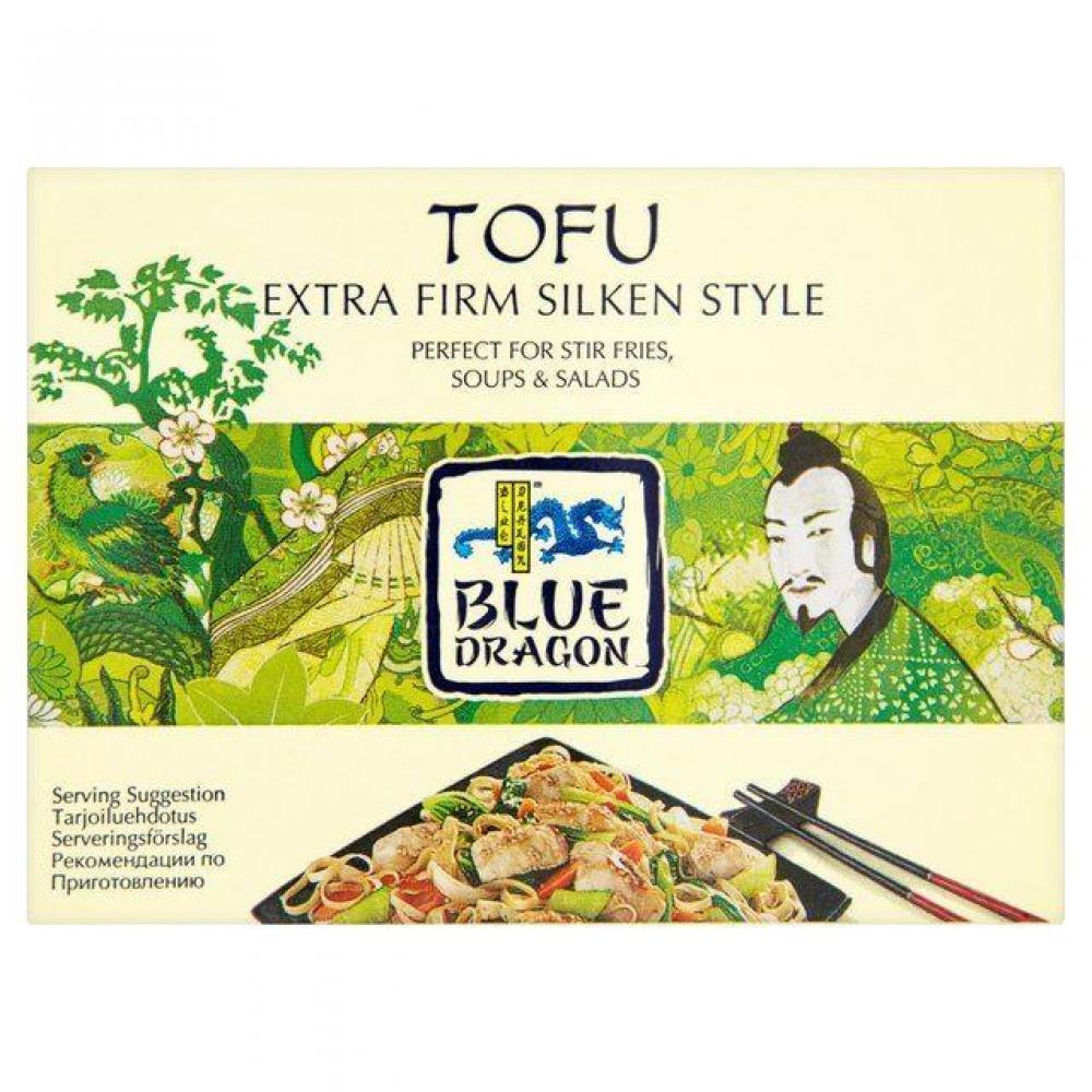 Blue Dragon Tofu Extra Firm Silken Style 349g