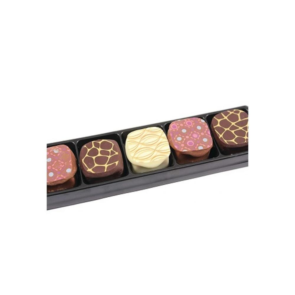 Bon Bons Gourmet Fudge Milk Dark and White Chocolate 80g