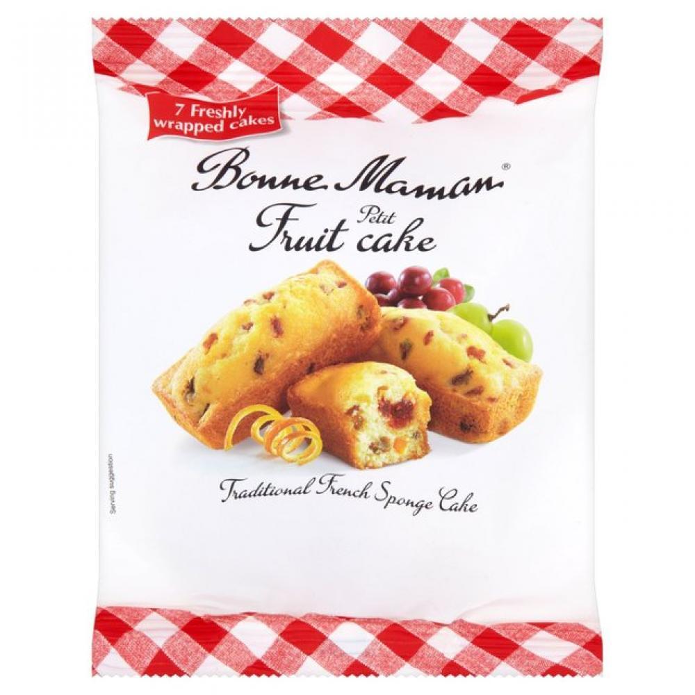 Bonne Maman 7 Petit Fruit Cakes 210g