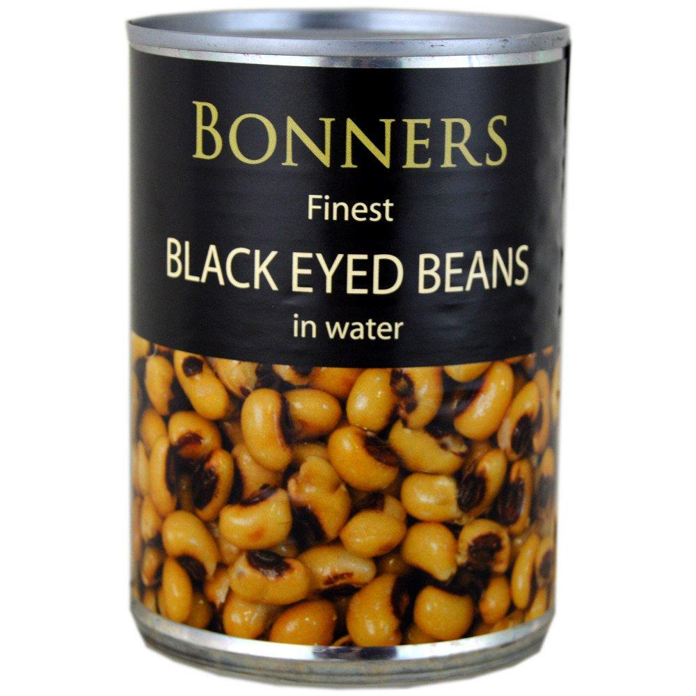 Bonners Finest Black Eyed Beans in Water 400g