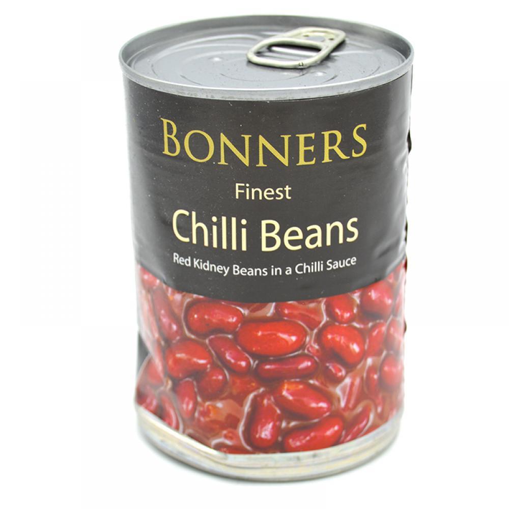 Bonners Finest Chilli Beans 395g