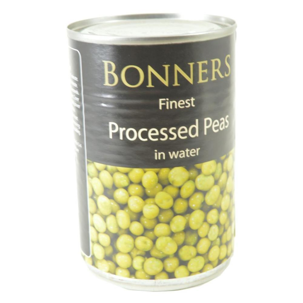 Bonners Finest Processed Peas In Water 300g