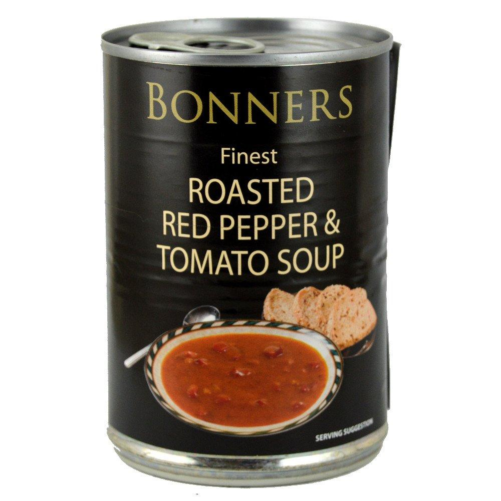 Bonners Finest Roasted Red Pepper and Tomato Soup 400g