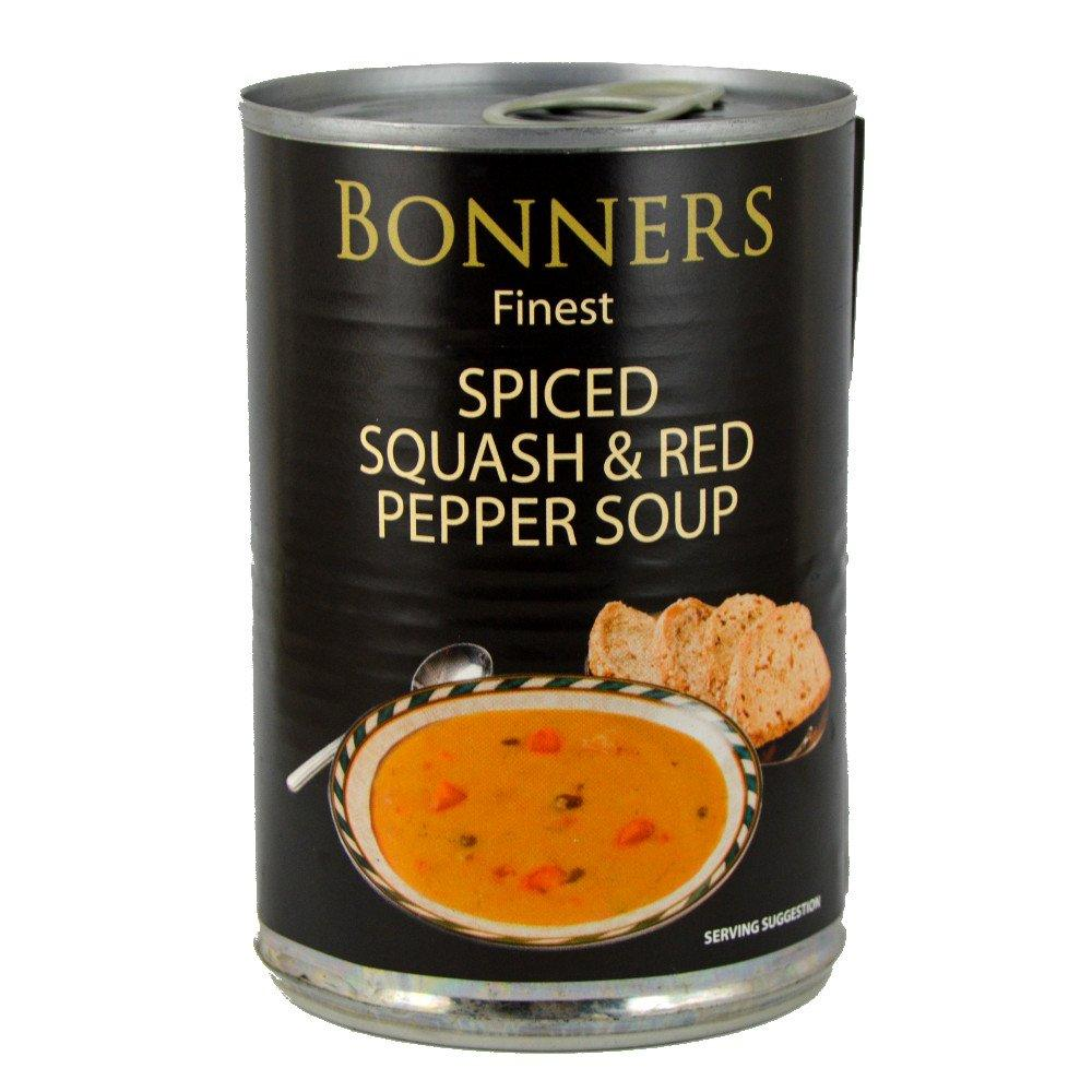 Bonners Finest Spiced Squash and Red Pepper Soup 400g