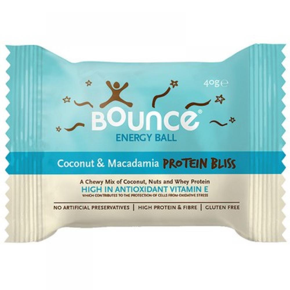 Bounce Foods Coconut and Macadamia Energy Ball 40g