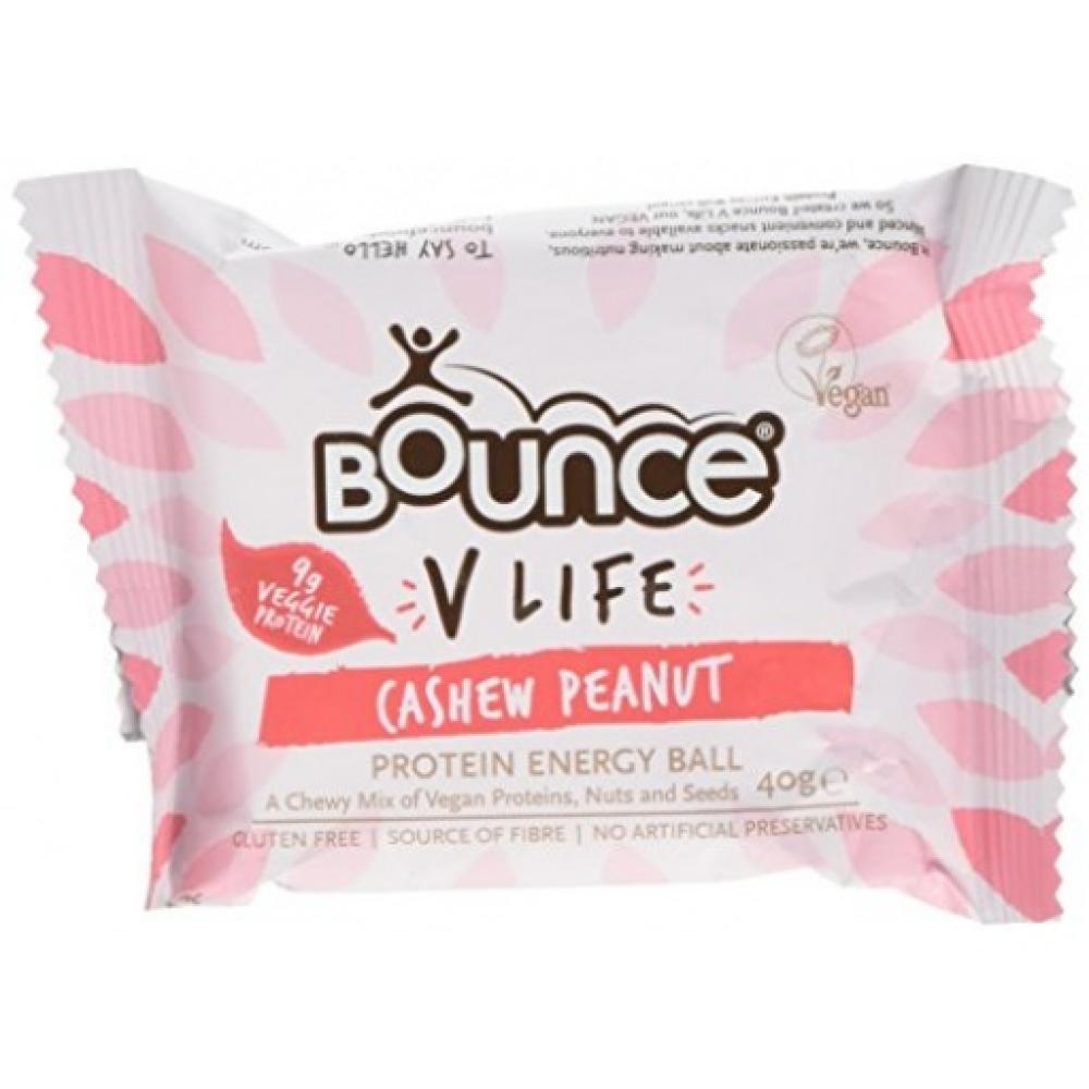 Bounce V Life Vegan Protein Energy Ball Cashew Peanut 40g