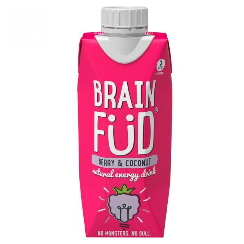 SALE  Brain Fud Berry and Coconut 330ml