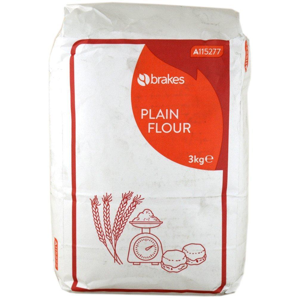 Brakes Plain Flour 3kg
