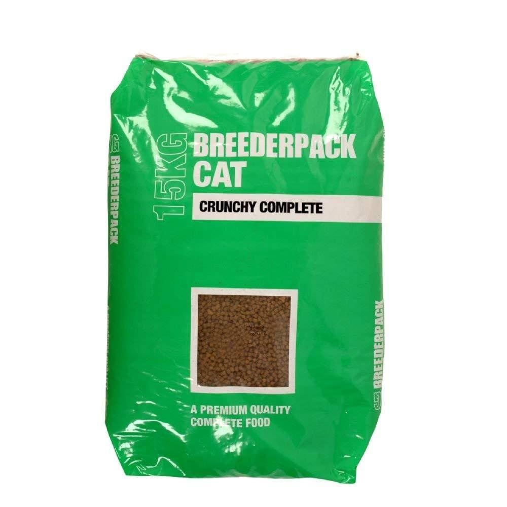 Breederpack Cat Food Crunchy Complete 15kg