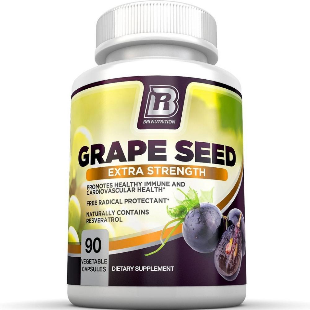 BRI Nutrition Grape Seed 90 Capsules